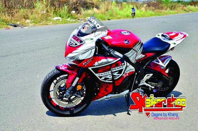 Tem Trum CBR 1000 SK Biker Shop - 10
