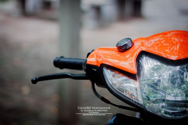 Wave 110 do he thong on dinh tay lai sieu kinh dien cua biker Thai - 5