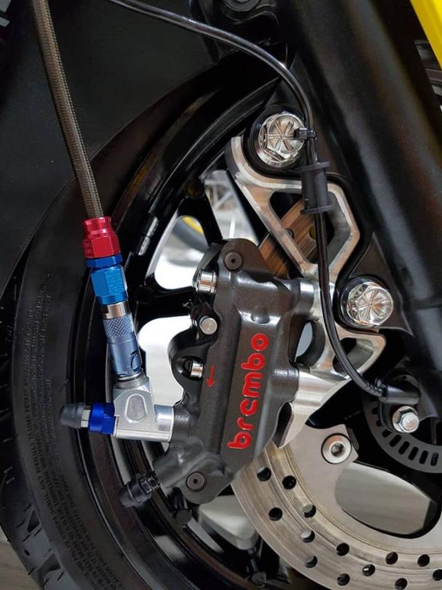 Yamaha XMax300 ban tuy chinh kha loi cuon tai NBB RacingParts - 8