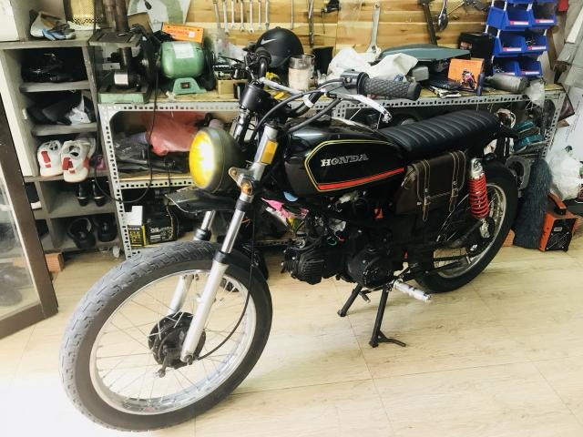 Win lien doanh 110cc do Tracker CAS garage