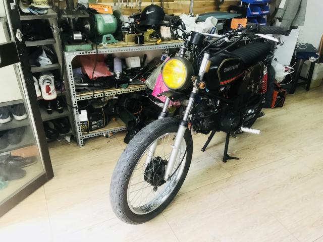 Win lien doanh 110cc do Tracker CAS garage - 4