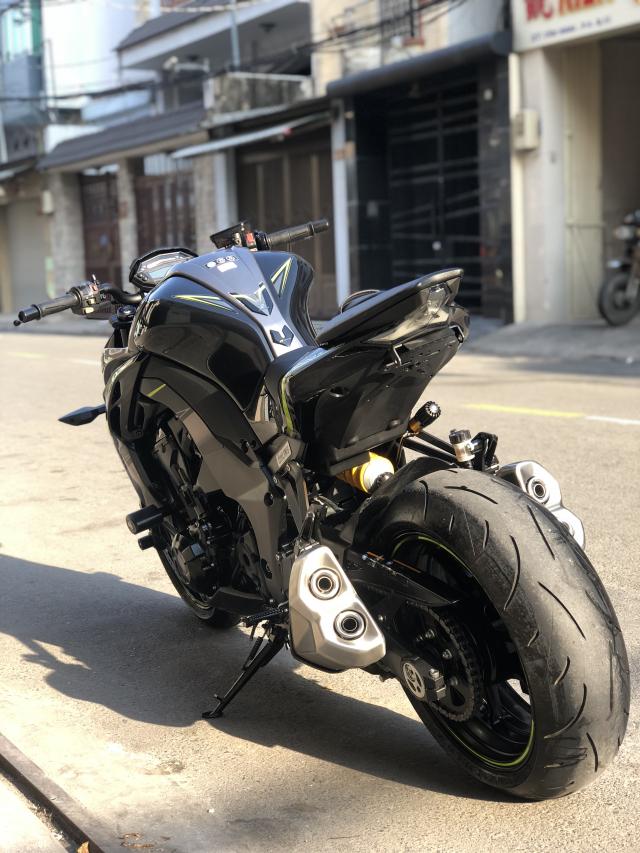 __ Ban kawasaki Z1000 R ban dat biet ABS odo 2200km HQCN DKLD T92018 xe keng nhu xe thung - 4