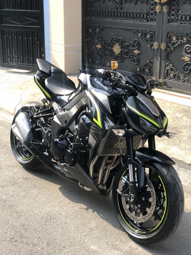 __ Ban kawasaki Z1000 R ban dat biet ABS odo 2500km HQCN DKLD T72017 xe keng nhu xe thung - 12