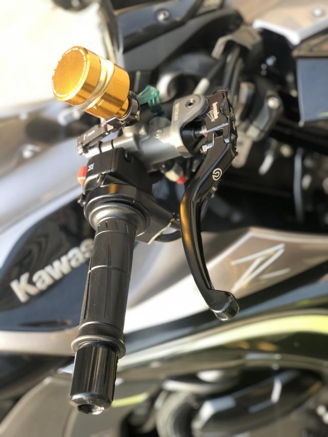 __ Ban kawasaki Z1000 R ban dat biet ABS odo 2500km HQCN DKLD T72017 xe keng nhu xe thung - 3