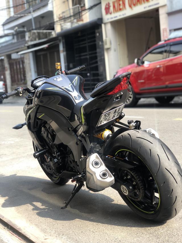 __ Ban kawasaki Z1000 R ban dat biet ABS odo 2500km HQCN DKLD T72017 xe keng nhu xe thung - 4