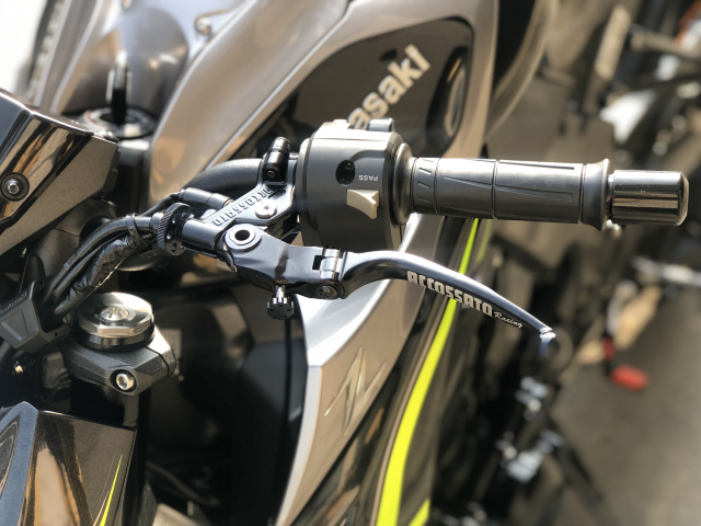 __ Ban kawasaki Z1000 R ban dat biet ABS odo 2500km HQCN DKLD T72017 xe keng nhu xe thung - 6