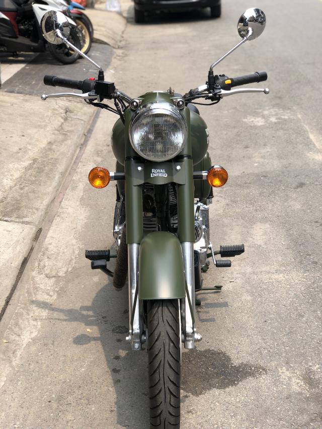 __ Can Ban xe Royal Enfield Battle Green 500cc Mau xanh quan doi la mau nguyen thuy cua Royal Enfie - 6
