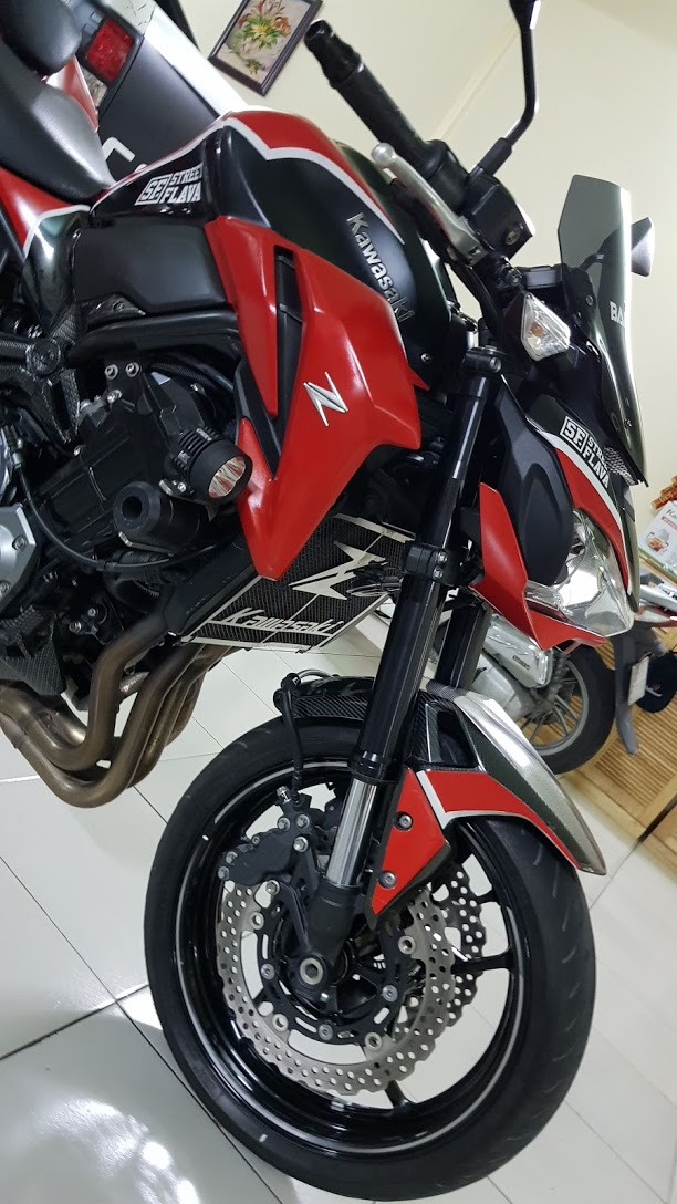 Ban Kawasaki Z900 ABS 42017Chinh hangHiSSSaigon so dep
