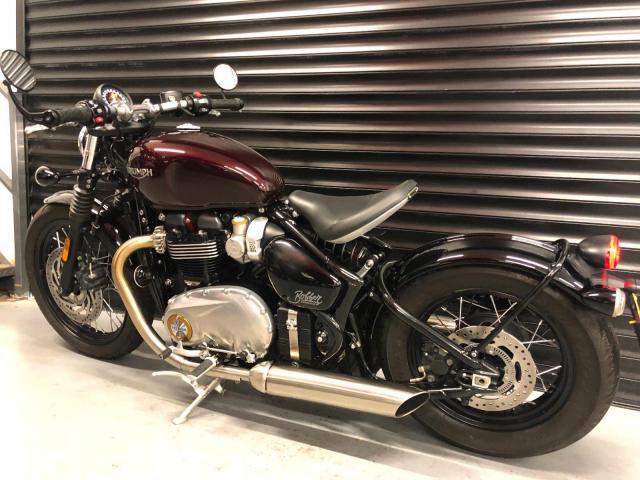 Can ban Triumph Bonneville T120 Black mau den 2018