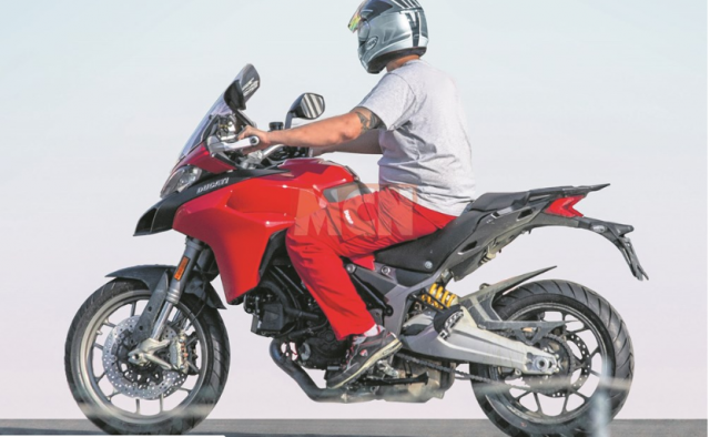 Ducati Multistrada 950 phien ban 2020 moi duoc tiet lo voi nhung thay doi lon