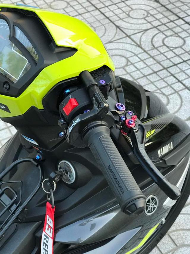 Exciter 150 do don gian nhung van loi cuon nguoi xem cua biker Vung Tau - 4