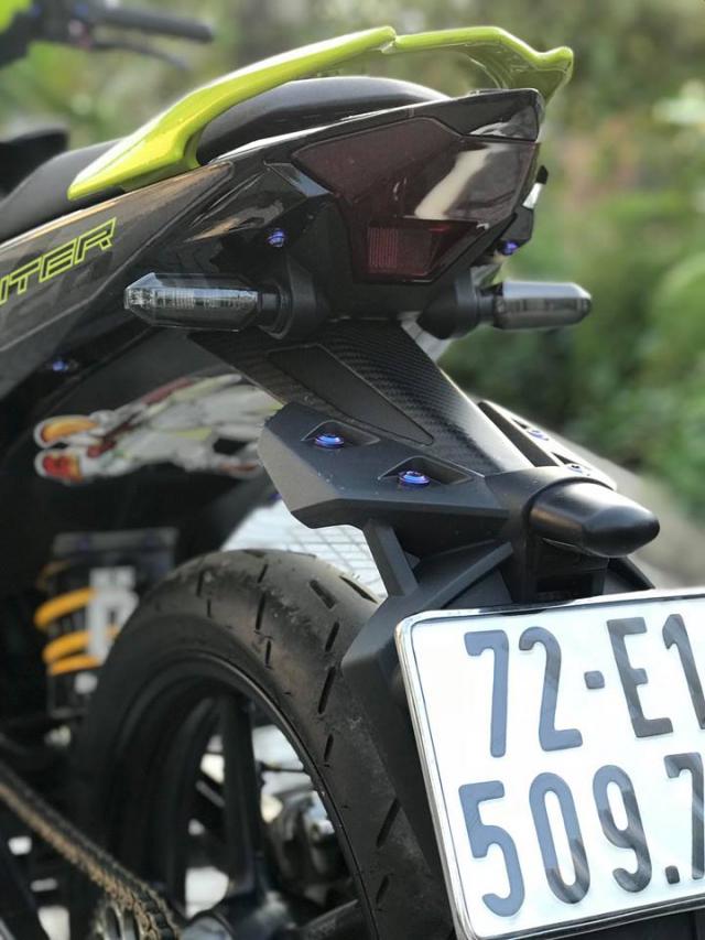 Exciter 150 do don gian nhung van loi cuon nguoi xem cua biker Vung Tau - 10