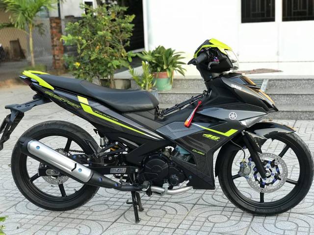 Exciter 150 do don gian nhung van loi cuon nguoi xem cua biker Vung Tau - 13