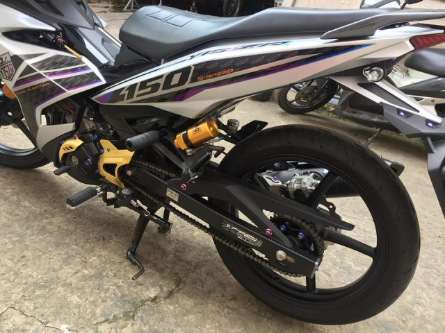 Exciter 150 do mang phong cach Y15zr dep nhat toi tung thay - 6
