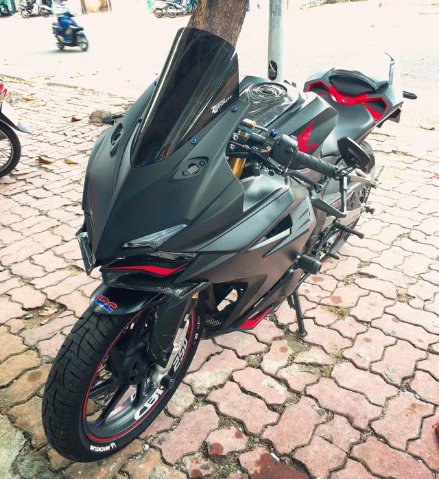 Honda CBR250RR ga khung long dep trai nhat Pho bien Vung Tau