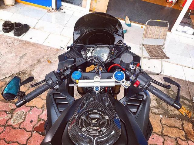 Honda CBR250RR ga khung long dep trai nhat Pho bien Vung Tau - 4