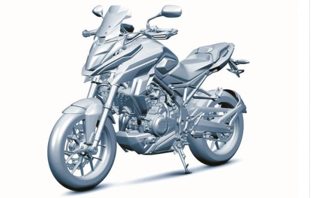 Honda CX02 Concept du kien se ra mat chung voi Honda 500 Series
