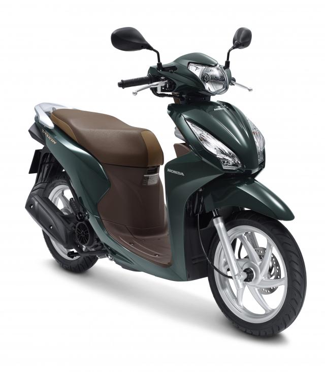 Honda Vision 2019 trang bi them khoa Smartkey mat dong ho moi gia tang nhe - 3