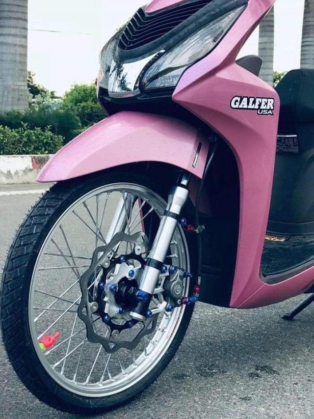 Honda Vision do tao diem nhan bang hoi tho Akrapovic day uy luc - 5