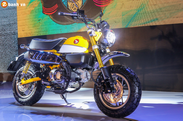 Can canh Monkey 125cc Mau Minibike nay chinh thuc co mat tai VN voi gia ban kha cao - 3