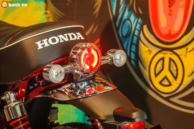 Can canh Monkey 125cc Mau Minibike nay chinh thuc co mat tai VN voi gia ban kha cao - 11