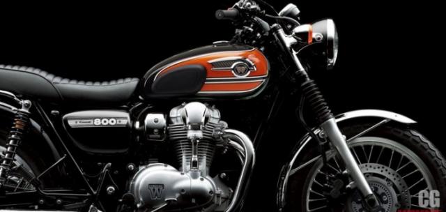 Kawasaki co ra mat mau W800 2019 tai su kien EICMA 2018