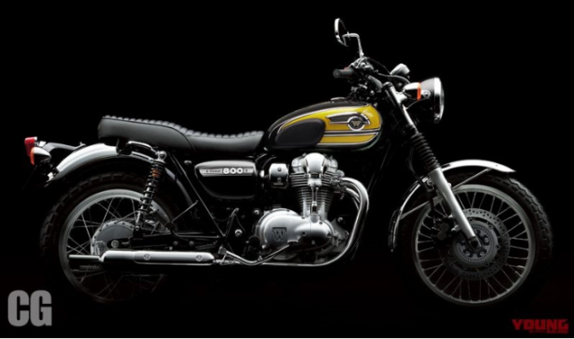 Kawasaki co ra mat mau W800 2019 tai su kien EICMA 2018 - 4