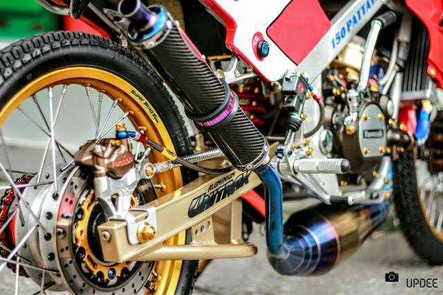 Kawasaki Kips 150 do kho tho voi heo Brembo Moto3 sieu dat gia