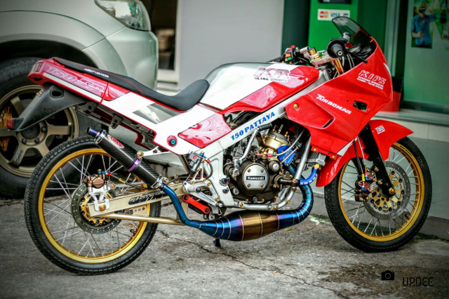 Kawasaki Kips 150 do kho tho voi heo Brembo Moto3 sieu dat gia - 3