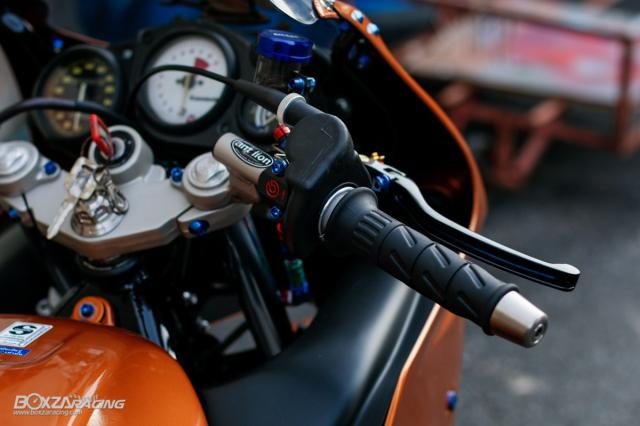 Kawasaki KRR ZX150 Trong ban do dam chat Racing den tu Xu chua vang - 6