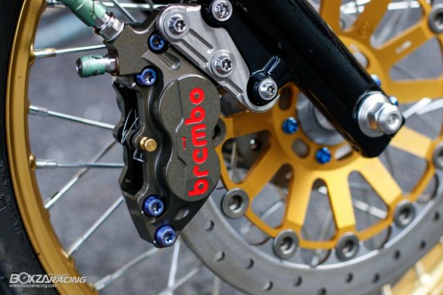 Kawasaki KRR ZX150 Trong ban do dam chat Racing den tu Xu chua vang - 10