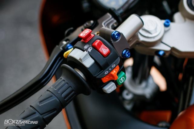 Kawasaki KRR ZX150 Trong ban do dam chat Racing den tu Xu chua vang - 8