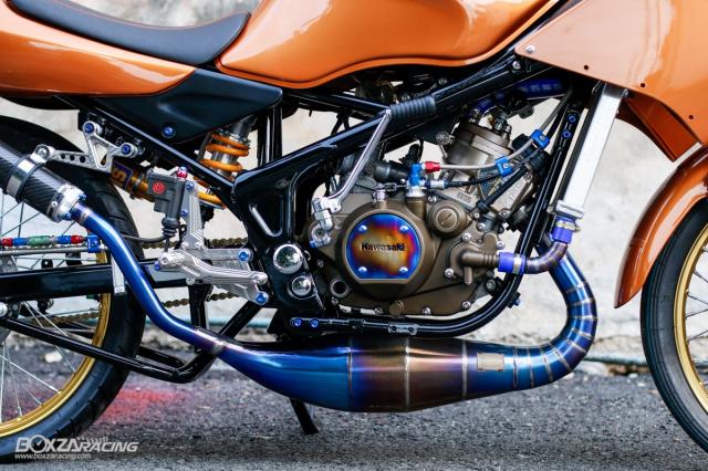 Kawasaki KRR ZX150 Trong ban do dam chat Racing den tu Xu chua vang - 18