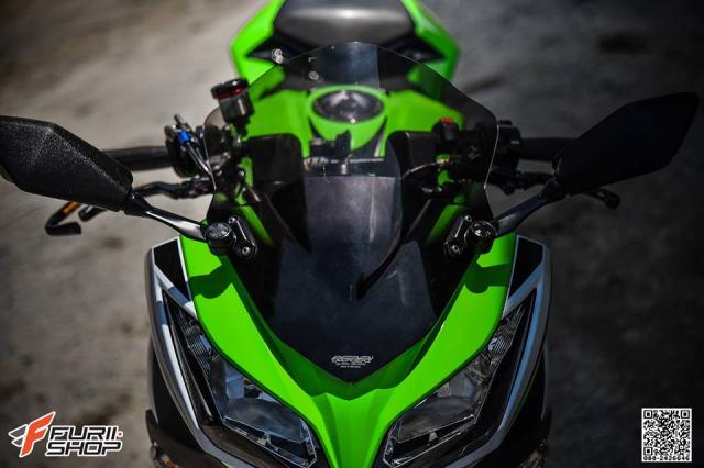 Kawasaki Ninja 250 ve dep thua huong tu nhung trang bi toi tan
