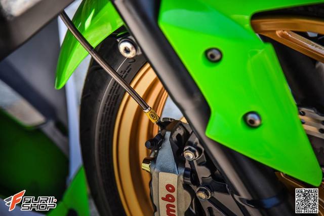 Kawasaki Ninja 250 ve dep thua huong tu nhung trang bi toi tan - 8