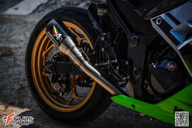 Kawasaki Ninja 250 ve dep thua huong tu nhung trang bi toi tan - 12