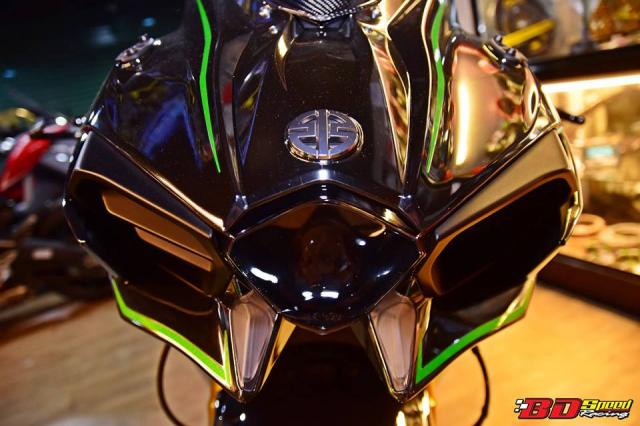 Kawasaki Ninja H2 ve dep khoi tao tu Sieu pham Superbike
