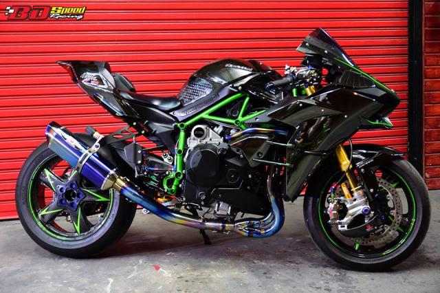 Kawasaki Ninja H2 ve dep khoi tao tu Sieu pham Superbike - 4