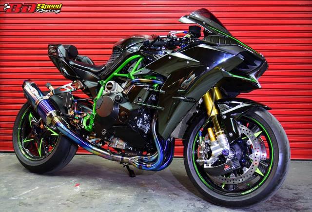 Kawasaki Ninja H2 ve dep khoi tao tu Sieu pham Superbike - 10