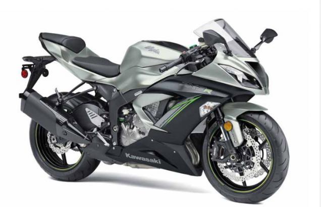 Kawasaki ZX6R 2019 ruc rich xuat hien vao cuoi nam nay - 3