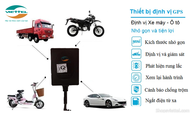 Khoa Chong Trom Xe May Thong Minh Smart Motor Viettel - 2