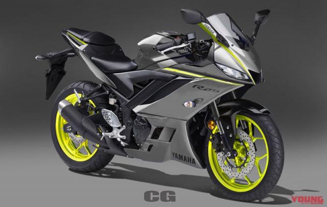 Lo anh Yamaha R25 2019 voi 5 sac mau moi dam chat the thao - 2