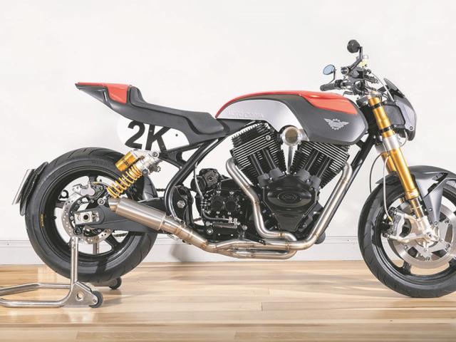 Moto Corsa 2K so huu dong co VTwin 1961cc voi gia ban hon 1 ti VND