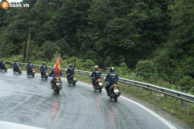 Phan II Exciter 150 2019 cung hanh trinh xuyen Viet 3500 km tu Sai Gon den Ha Giang - 11