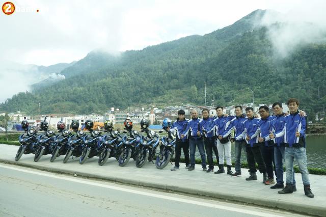 Phan II Exciter 150 2019 cung hanh trinh xuyen Viet 3500 km tu Sai Gon den Ha Giang - 14