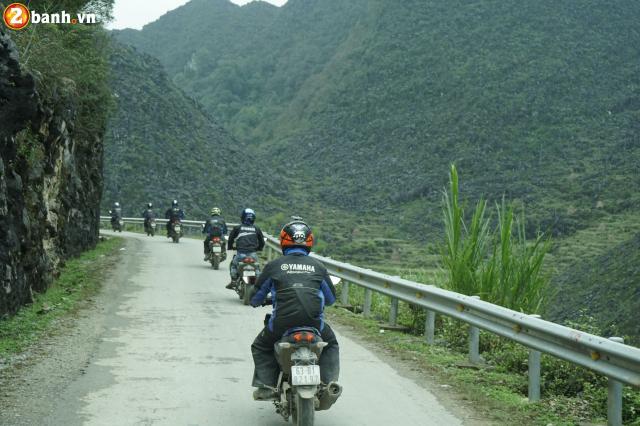 Phan II Exciter 150 2019 cung hanh trinh xuyen Viet 3500 km tu Sai Gon den Ha Giang - 24