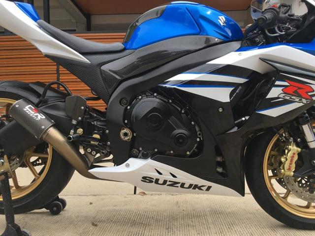 Suzuki GSXR1000 ban nang cap sac mui cong nghe tu nghe danh Ca heo xanh - 4