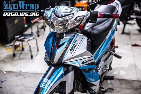 Tem Nhom Che Sirius RC Dep Nhat 2018 SaiGonWRAP Do Tem Xe Chuyen Nghiep - 4