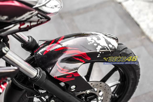 Tem xe FZ155 Kabuki candy cuc chat tai Decal 46 - 5