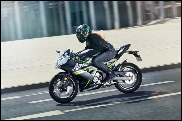 Thong so ky thuat Kawasaki Ninja 125 ABS 2019 vua duoc cong bo